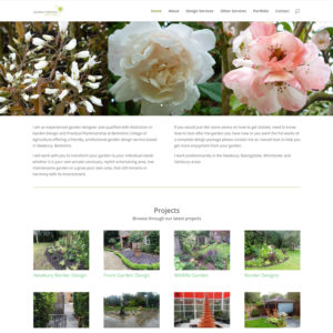 Garden designer website