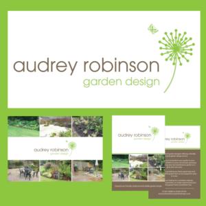 Garden designer logo brand