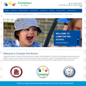 Pre school web design
