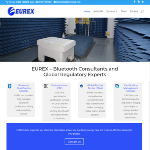 Eurex web design