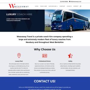 Weavaway web design